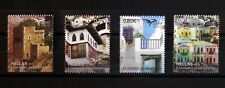 GREECE, GREEK STAMPS 2018 12th set, euromed traditional mediterranean houses MNH