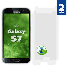 2x Panzerfolie für Samsung Galaxy S7 Displayschutzfolie Schutz Panzer Folie Glas