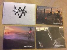 Watchdogs 2 Lithographs and envelope out of collectors edition