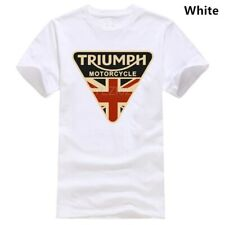 Triumph Motorcycle UK Flag T Shirts Vintage Gift For Men Women Funny Tee