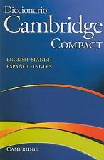 Diccionario Cambridge Compact para Estudiantes de Ingles (2008, Paperback)