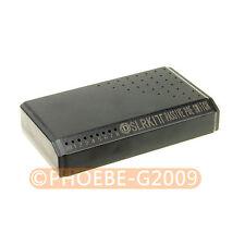 DSLRKIT 8 puertos 6 Poe Switch Inyector alimentación por Ethernet sin adaptador de corriente