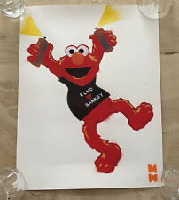 Elmo Loves Banksy Original Spray Paint Graffiti Art