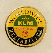 Northwest KLM Airlines Lapel Pin