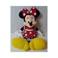 Disney Parks Minnie Mouse Plush Stuffed Animal Red