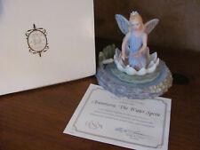 LENOX Classics Fairy on Lotus Water Lilly Flower Lenox Avonmora, the water sprit