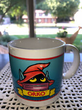 Vintage 1984 Filmation He-Man Masters of the Universe ORKO Mug MOTU Cup 80s used