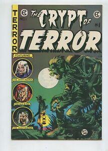 The Crypt of Terror #1 (1973) EC East Coast Comix FN 6.0