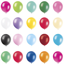"11"" MATT High Quality Amscan LATEX BALLOONS (Birthdays/Party/Events)"