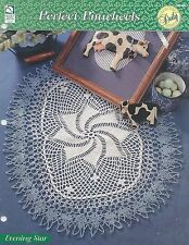 Evening Star Doily Crochet Pattern - Perfect Pinwheels HOWB Collectible Series