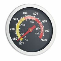 BBQ Smoker Grill Thermometer 50-800℉ Outdoor Camping Barbecue Temperature Gauge