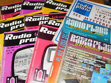 LOT 11 RADIO tsf TELEVISION PRATIQUE geo mousseron INFRA metrix TV plans COSMOS