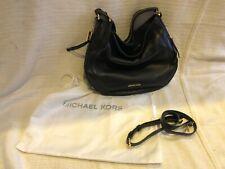 Michael Kors medium Brooke black pebblegrain leather handbag - new and unused