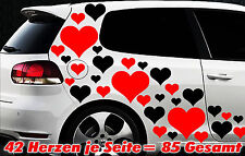 85 Cuore Stelle Star Adesivi Auto Love Adesivo Tuning Stylin ' adesivo tribale