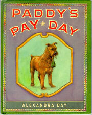 Irish Terrier Hardback Children's book: Paddy's Pay Day by Alexandra Day*