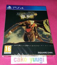 Jeu Ps4 Final Fantasy Type-0 HD Edition limitee complet Square Enix Steel Book