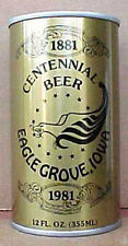 EAGLE GROVE IOWA CENTENNIAL BEER ss CAN, Schell, New Ulm, MINNESOTA, 1981 issue