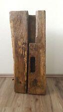 Handgefertigte Stehlampe aus historischem Eichenbalken ; Unikat ; Fachwerk ,