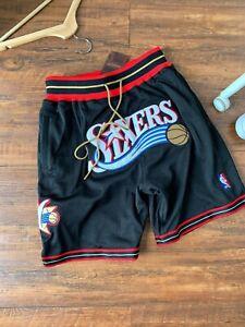 Philadelphia 76ers JustDon Shorts black