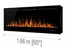 """Noble Flame PARIS Schwarz 1660 (166 cm / 65"""") - Elektrokamin Wan (FKD-0362.1660)"""