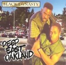 Black Dynasty: Deep East Oakland w/ Artwork MUSIC AUDIO CD G-Funk Album AHR 1101