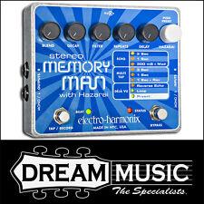 Electro Harmonix EHX Stereo Memory Man w/ Hazarai Digital Delay FX Pedal RRP$569
