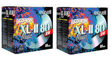 20 x Maxell Audio Music Rewritable CD-RW XLII 700MB 52x 80Min In Jewel Case