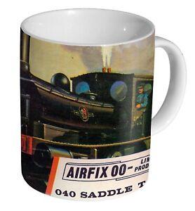 Airfix 040 Saddle Tank Box Art - Coffee Mug / Tea Cup