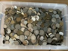 More details for 12kg job lot of old coins mixed world coins house clearance unsorted raw stock