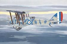 Roden 1/48 Airco De Havilland DH4 WWI British Biplane Recon Interceptor RAF3a