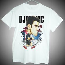 Novak Djokovic T-shirt serbia grandslam tennis star short sleeve men kids gifts