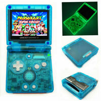 Nintendo Game Boy Advance GBA SP Glow in the Dark Blue System AGS 101 Brighter