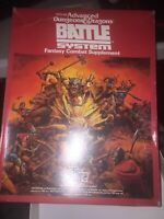 TSR AD&D 1st Ed  Battle System VG Free Shipping Dungeons & Dragons
