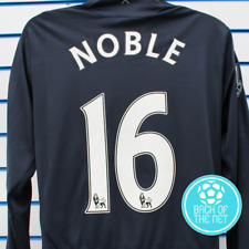 WEST HAM UNITED L/S Away Shirt 2009-10  #16 NOBLE  Size:L