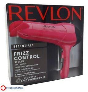 BL Revlon Dryer Ionic Styler 1875 Watt Frizz Control