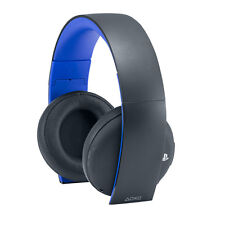 Official Sony PlayStation PS4 PS3 PS Vita Wireless Stereo Headset 2.0 NEW UK