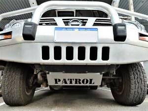 Bash Plate Nissan Patrol Steering Stainless Guard Custom Design