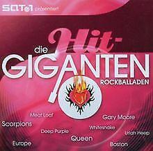 Die Hit Giganten - Rockballaden von Various   CD   Zustand gut