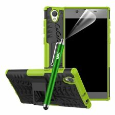 Sony Xperia L1 Case Experia Strong Hybrid Heavy Duty Shockproof Hard Stand Cover Green