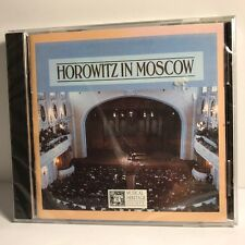 VINTAGE SEALED UNOPENED MUSIC CD HOROWITZ IN MOSCOW MUSICAL HERITAGE PIANO 1986