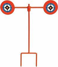 2.5//3//4cm Steel Shooting Targets Spinning Reset Stand Set Metal Pistol Rifle