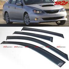 Window Visors Shade Weather Guard Deflector fits 2008-2011 Subaru Impreza Sedan