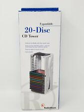 Vintage New Expandable Modular 20 Disc CD Tower RadioShack