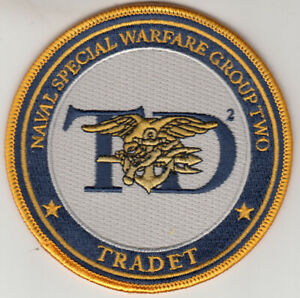 NAVAL SPECIAL WARFARE GROUP TWO TRADET PATCH