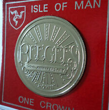 2009 Isle of Man The BeeGees Bee Gees (Barry Robin Maurice Gibb) Crown Coin Gift