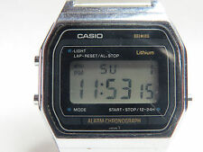 VINTAGE DIGITAL CASIO RARE (415) A153 ALARM CHRONO JAPAN