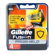 Gillette Fusion Proshield Yellow Men's Razor Blade Refills 4 Cartridge