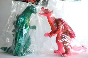 Godzilla1955 & Anguirus1955 Marmit 2003 Super Fest Limited Edition Figures set