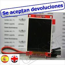 """Pantalla TFT 2.2"""" color y ranura SD (Colour display + SD reader)_"""