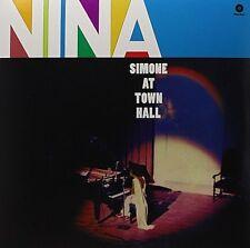 "NINA SIMONE ""NINA SIMONE AT TOWN HALL"" (180 G) BRAND NEW! STILL SEALED! (MINT)"
